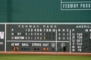233 Fenway Park - Scoreboard (June 2, 2007)-L-2
